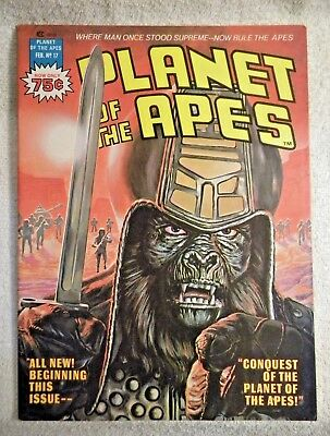 Planet of the Apes #17 (Feb 1976, Marvel)