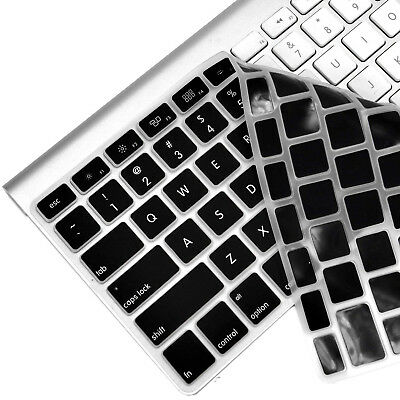 Soft Silicone Keyboard Protector [Updated Version] for MacBook Pro 13/15 inch