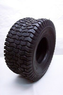 NEW TIRE 15x600-6 TURF SAVER TREAD 2 PLY TUBELESS 346