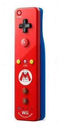 Official Nintendo Wii Remote Plus Mario Edition - Red SS