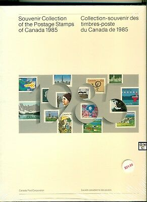 1985 Souvenir Collection of the Postage Stamps of Canada, FV- $18.33 (OOAK)