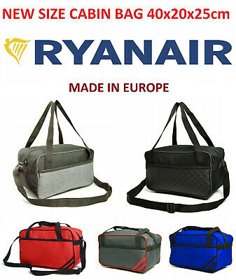 MADE IN EU Ryanair New Size 40 x 20 x 25 Luggage 40x20x25cm Small Hand Cabin Bag