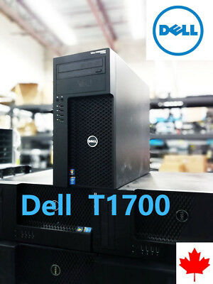 Dell T1700 Xeon E3-1241 v3 3.5Ghz Win7/ Win10 customize up to 32G RAM SSD