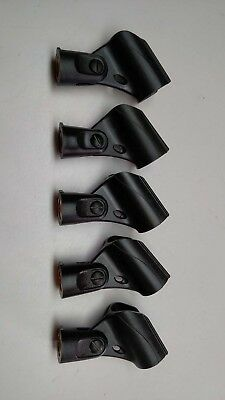 5x Adjustable Microphone Stand Mounts Holders Clips for Shure SM58 SM57 58A Mics