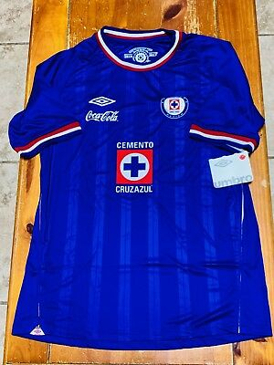 6a220eac940 CRUZ AZUL UMBRO Jersey 2010-2011 Brand New Hard To Find - $100.00 ...