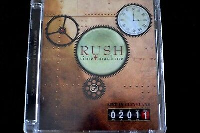 Rush Time Machine 2011: LIVE IN CLEVELAND (DVD, Anthem, 2011) (Clear Case) NEW