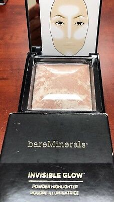 BareMinerals Invisible Glow Powder Highlighter. FAIR to LIGHT 0.24 oz New in Box