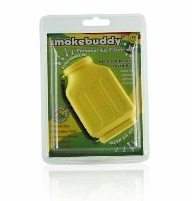 Smoke Buddy Junior Personal Odor Cleaner Smokebuddy Vape Filter Purifier Yellow