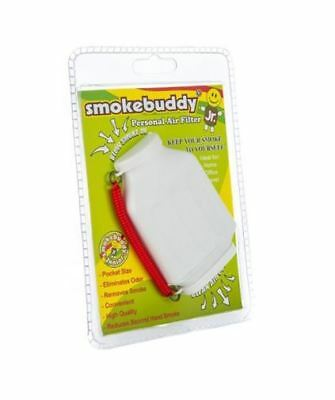 Smoke Buddy Junior Personal Odor Cleaner Smokebuddy Vape Filter Purifier White