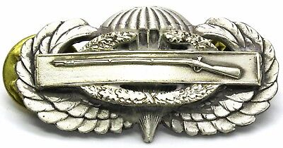 Combat Infantry Jump Wing Airborne Badge US Army CIB Insignia Military Medal Pin