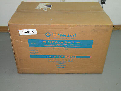 Case of (150) ICP Personal Protection Knee High Shoe Covers- New in Box BCNC0003