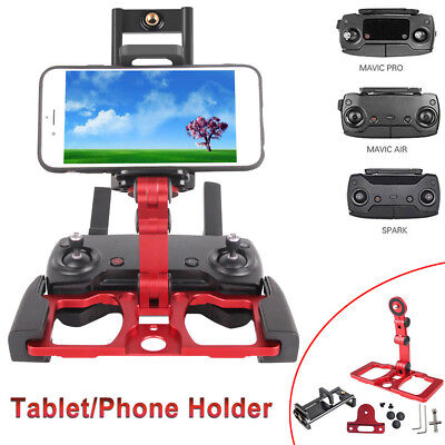 Tablet Phone Mount Holder For DJI Crystalsky Spark Mavic 2 Zoom Pro AIR Remote