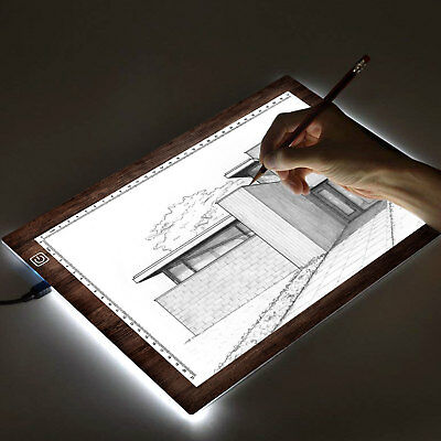 SAVFY A4 LED Light Box Tracing Drawing Board Art Design Pad Copy Lightbox