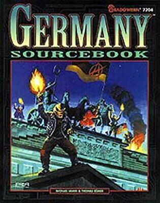 Germany Sourcebook (Shadowrun) by Romer, Thomas Paperback Book The Cheap Fast