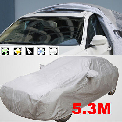 XXL Universal Car Cover UV Resistance Anti Scratch Dust Dirt Full Protection AU