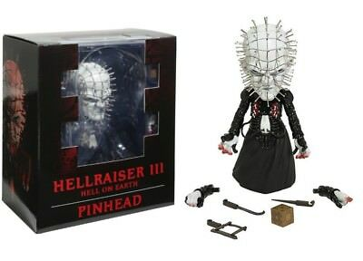 Hellraiser III Tête d'épingle Deluxe Stylisés roto Vinyl collectible figurine 16