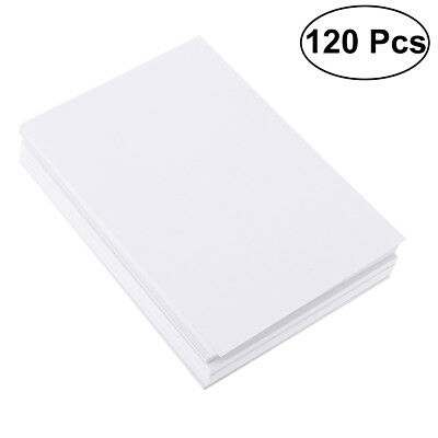 120 Sheets Cotton Watercolor Paper Rub Resistance Cold Press Paper for Novice