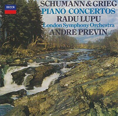 Grieg/Schumann: Piano Concertos -  CD TCVG The Cheap Fast Free Post The Cheap