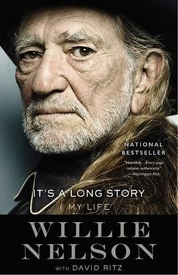 It's a Long Story: My Life by Willie Nelson - BRAND NEW!