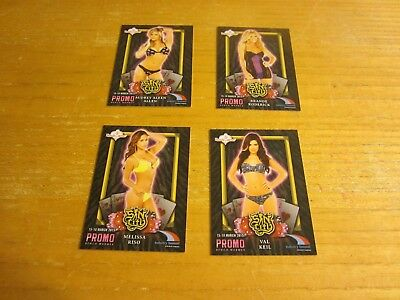 Brande Roderick +3 Lot of 4 2015 Bench Warmer Industry Summit Sin City Promos