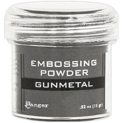 Ranger Embossing Powder 1oz. - Gunmetal Metallic