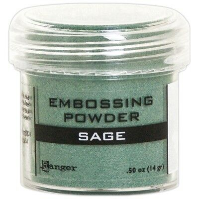 Ranger Embossing Powder 1oz. - Sage Metallic
