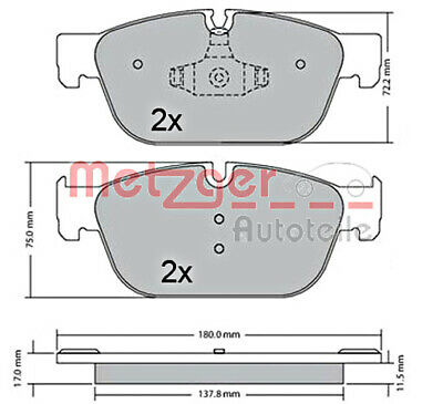 Fits 2010-2015 Toyota Prius Brake Pad and Rotor Kit Front and Rear Centric 58164