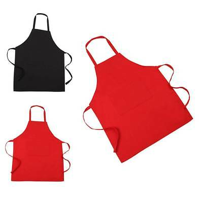 Apron With Pocket Chef Kitchen Cooking Women Men Unisex Ladies Bib Work