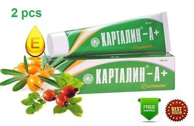 Kartalin A+ Psoriasis Ointment Natural authentic cream OTC 200 ml