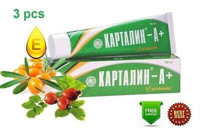 Kartalin A+ Psoriasis Ointment Natural authentic cream OTC 300 ml