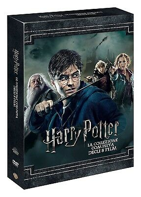 Harry Potter Collection (8 Dvd) Nuovo, Italiano