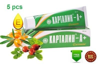Kartalin A+ Psoriasis Ointment Natural authentic cream OTC 500 ml