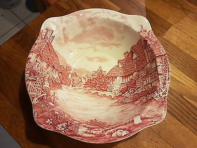 Plat faience Johnson Bros made in England