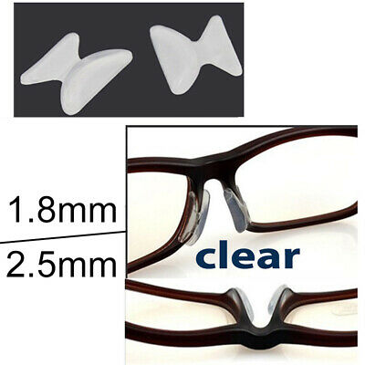 6fbc2de87af 4 Pairs Anti-slip silicone Stick On Nose Pads For Eyeglasses Sunglasses  Glasses