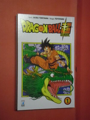 DRAGON BALL- SUPER- N° 1- DI:AKIRA TORIYAMA- MANGA STAR COMICS- nuovo