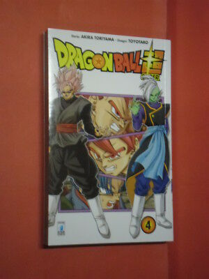 DRAGON BALL- SUPER- N° 4- DI:AKIRA TORIYAMA- MANGA STAR COMICS- nuovo