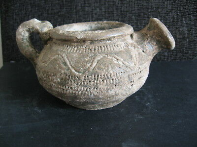 Bronze Age Dubovac-Zuto Brdo Culture Clay Engraved Bowl 1400-1200 B.c.