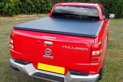 Fiat FullBack Soft Tri Fold Tonneau Cover Soft Folding Vinyl Load Bed Cover