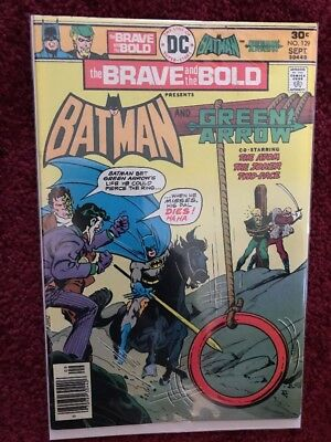 BRAVE and the BOLD #129 Batman & Green Arrow! DC Comic Book ~ FN