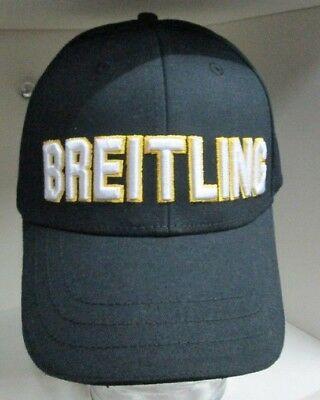755f07c0617 BREITLING Baseball CAP black NOT SOLD in stores Embossed embroidery since  1884
