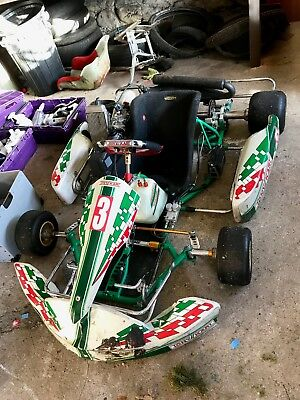 Tony kart rotax max senior kart with otk parts Vega tyres mag wheels