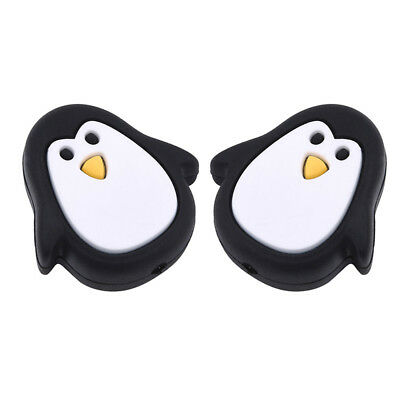 Silicone Baby Teething Necklace Pendant Penguin Mum & Baby Jewellery 8C