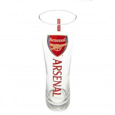 Arsenal F.C. Tall Beer Glass Official Merchandise