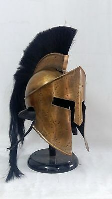 300 Movie Spartan King Leonidas Medieval Roman Helmet Halloween Costumes Gift