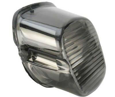 Drag Specialties Smoke Laydown Taillight Lens with No Tag Window Harley