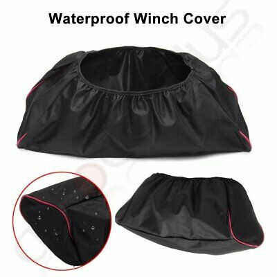 Black 600D Soft Cover Driver Waterproof Winch Dust Recovery Oxford Textile Bag