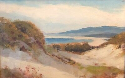 Painting By Artist Manual Valencia Early CA Art Ca coast, mountains