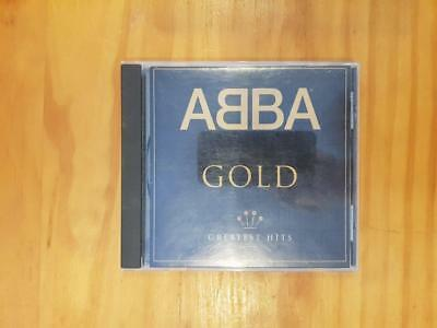 ABBA Gold Greatest Hits CD Good Used Condition FREEPOST IN AUSTRALIA