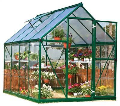 Polycarbonate Greenhouse in Forest Green [ID 3268933]