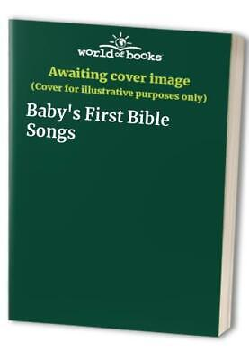 Baby's First Bible Songs Hardback Book The Cheap Fast Free Post